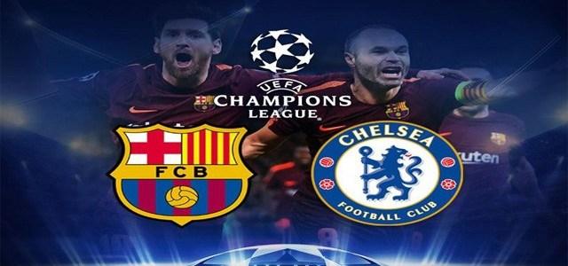 Prediksi Skor Barcelona vs Chelsea 15 Maret 2018