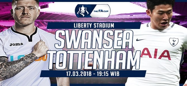 Prediksi Swansea City vs Tottenham Hotspur 17 Maret 2018