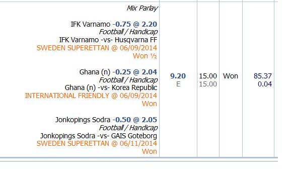 Varnamo vs Husqvarna menang setengah