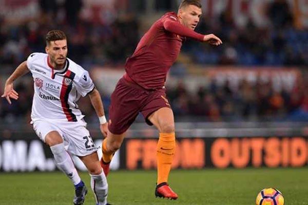 Prediksi Pertandingan Sepakbola Liga Italia Cagliari VS AS Roma