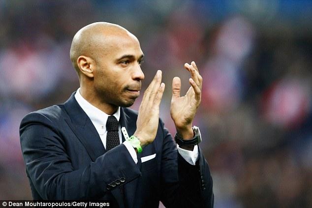 Thierry Henry Resmi Diangkat Sebagai Manajer AS Monaco