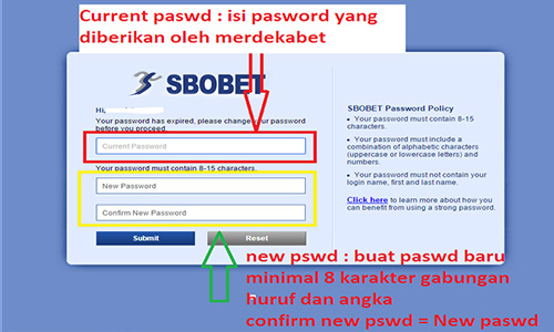 Ganti Password