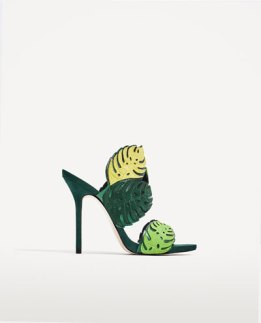 Leaf Sandal ... also Zara!