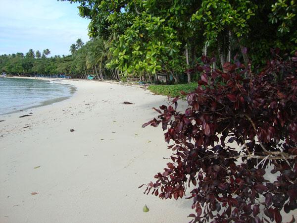 cagwait white beach, cagwait, surigao del sur