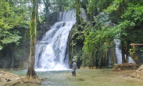 Amazing and Untouched Pinandagatan Falls, New Tubigon, Sibagat, Agusan del Sur