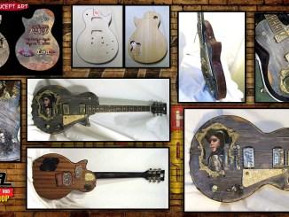 Kat Von D Birthday Bash Guitar