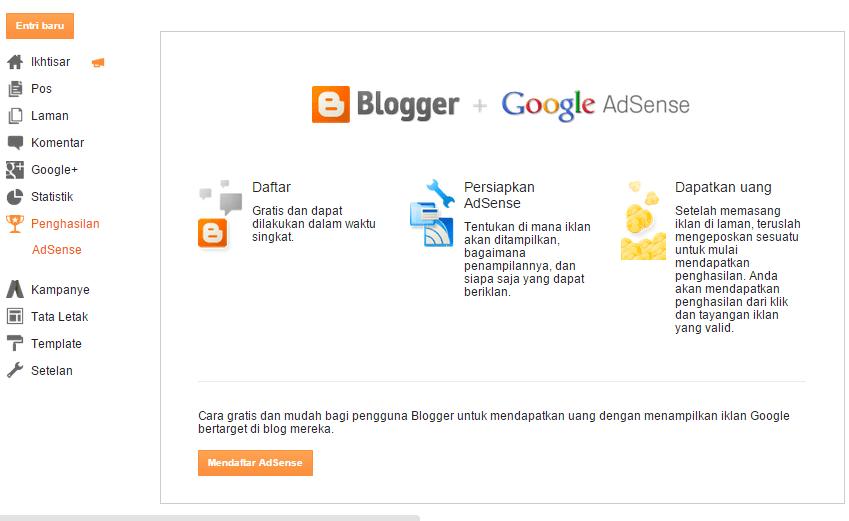 cara memunculkan tab penghasilan di blogger 3
