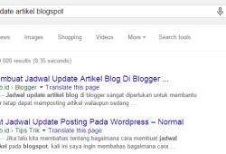 Cara Mengetahui Posisi Artikel Di Google / SERP