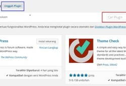 Cara Download Plugin dari Dashboard WP