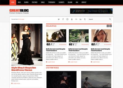 2 Template WordPress Gratis Valid HTML5