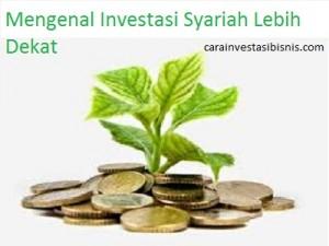 mengenal investasi syariah lebih dekat