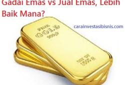 Gadai Emas atau Jual Emas, Lebih Baik Mana?