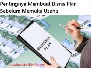 pentingnya membuat bisnis plan sebelum memulai usaha