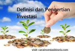 Definisi dan Pengertian Investasi Yang Wajib Anda Pahami