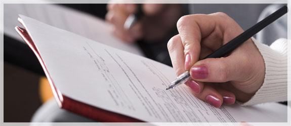 pengisian formulir asuransi