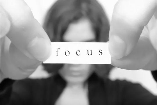 kurang fokus