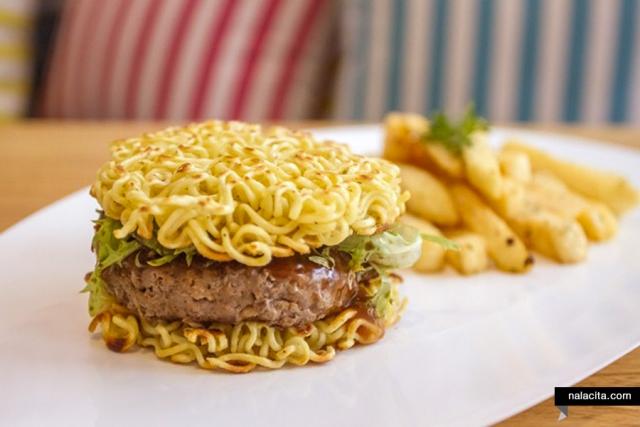 usaha burger mie