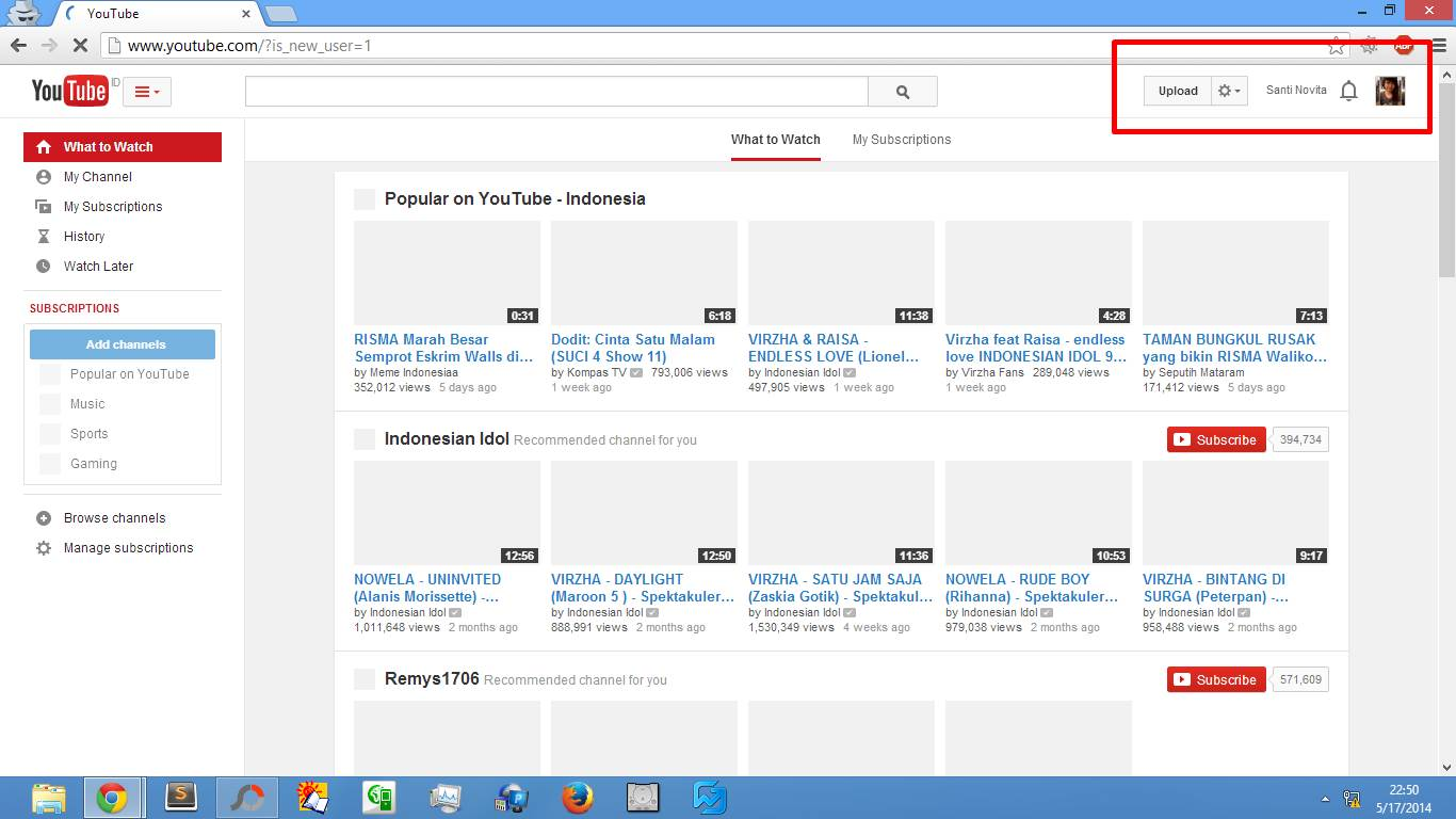 membuat akun youtube