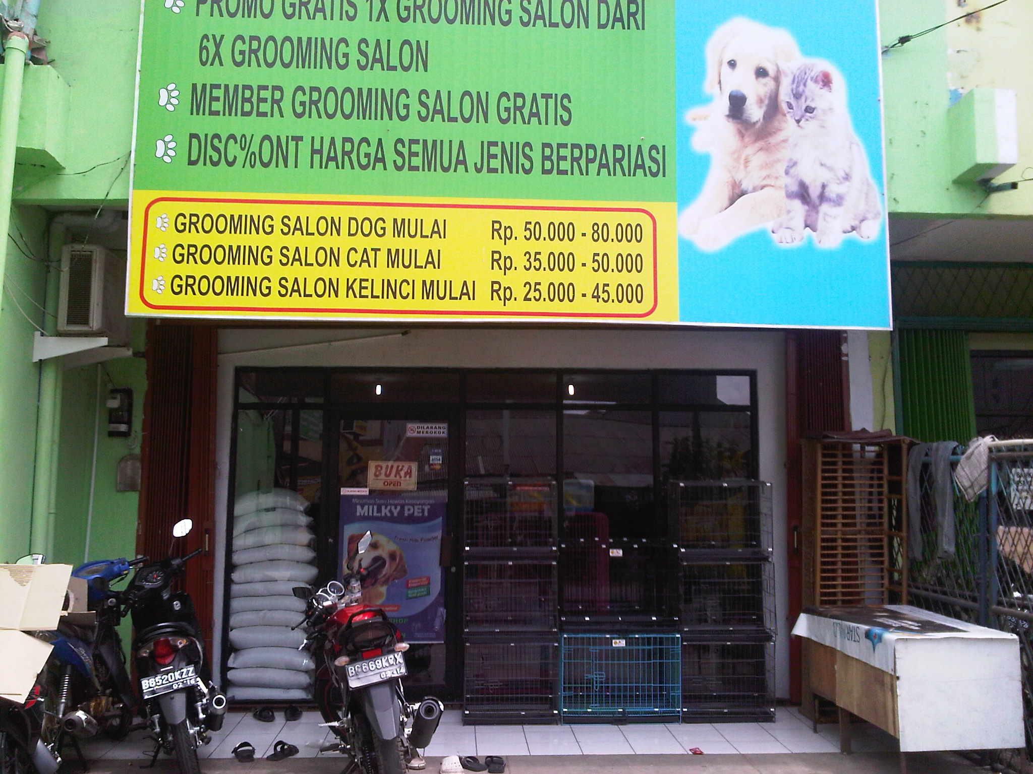 pendapatan salon hewan