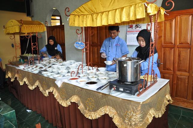 Sistem Gubuk catering pernikahan