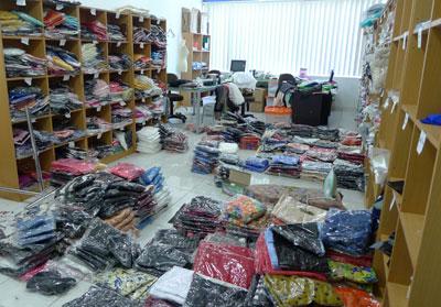 sistem distributor pakaian