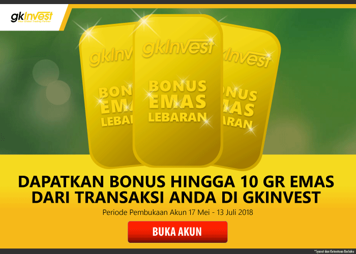 Promo GKInvest Bonus Emas Lebaran