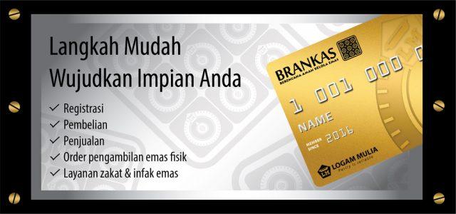 Beli Emas Antam Online Menggunakan Brankas LM