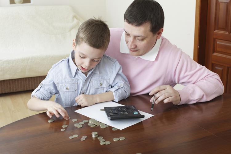 anak mengelola keuangan