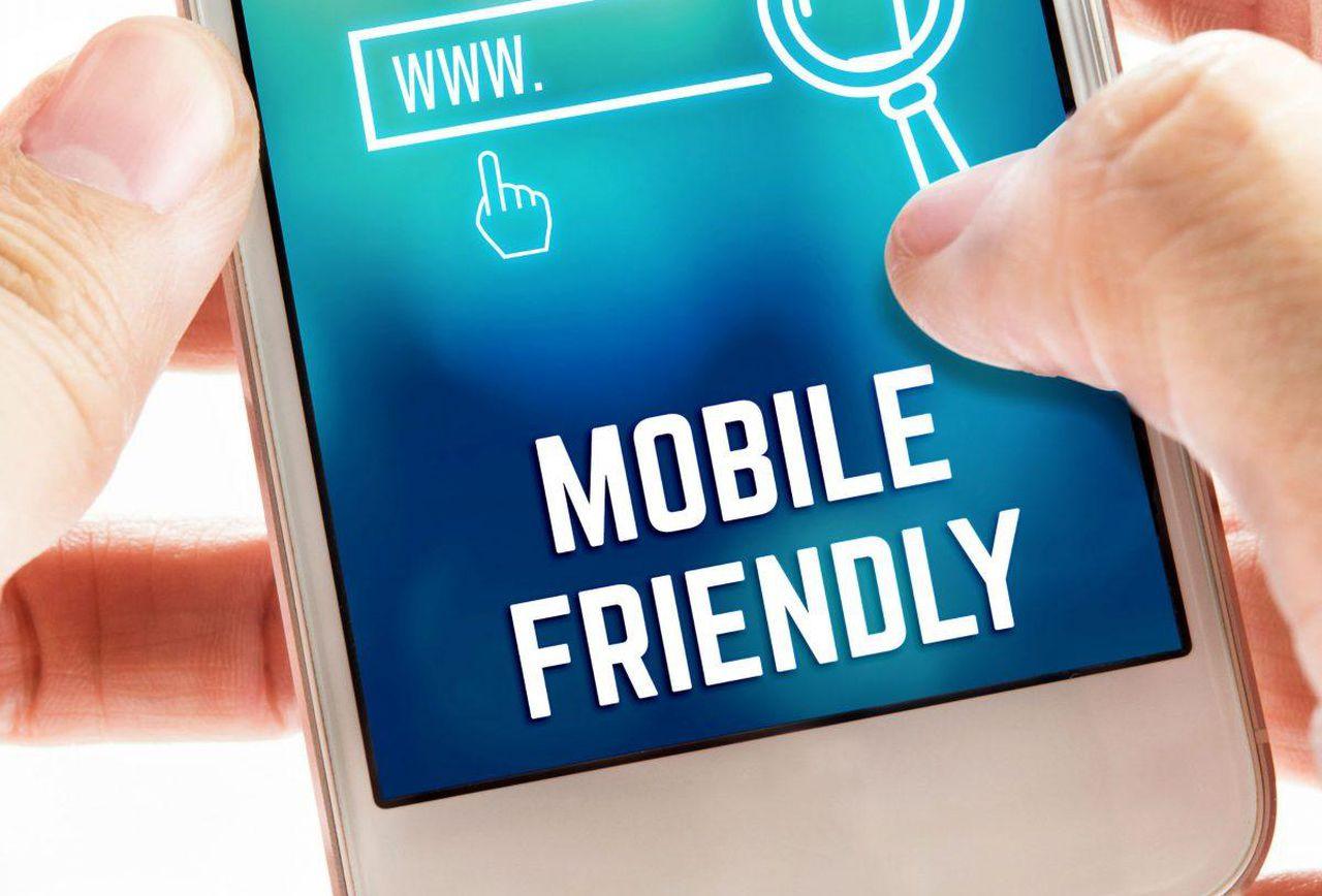 Web mobile friendly