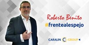 Roberto Benito frentealespejo