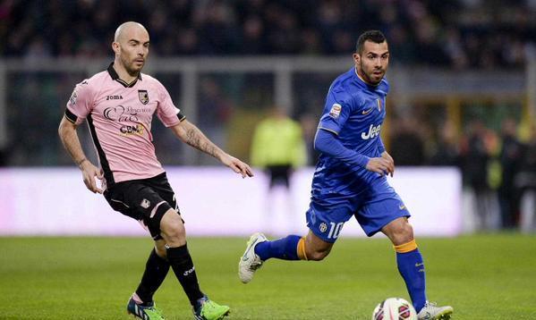 Juventus Menang 1-0 Atas Palermo