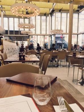 The Harvey Nichols cafe
