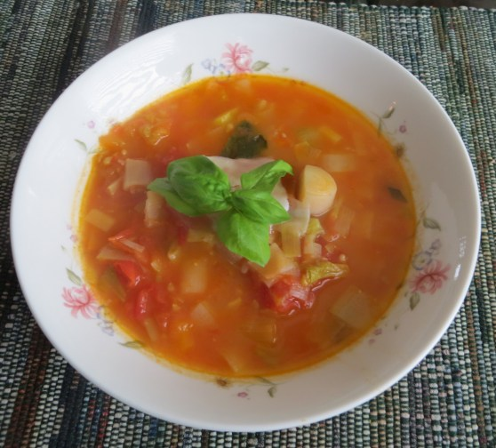 Chemical free tomato Soup