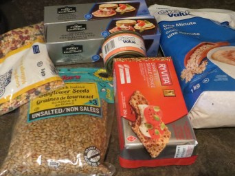 Oats, canned fish, nuts, lentils