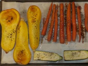 Fresh roasted veggies - you choice