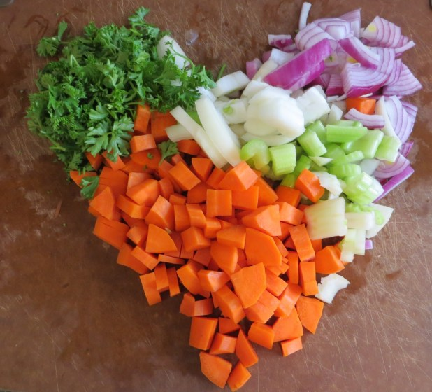 We love healthy raw vegetables