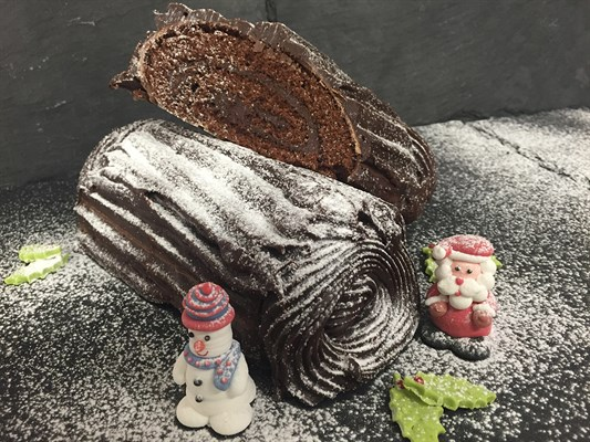Taste of Birmingham - Yule Log Recipe