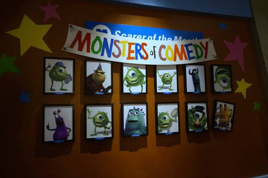 Monsters Inc Laugh Factory