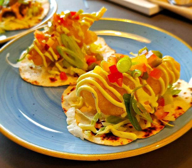 Chance & Counters Fish Tacos