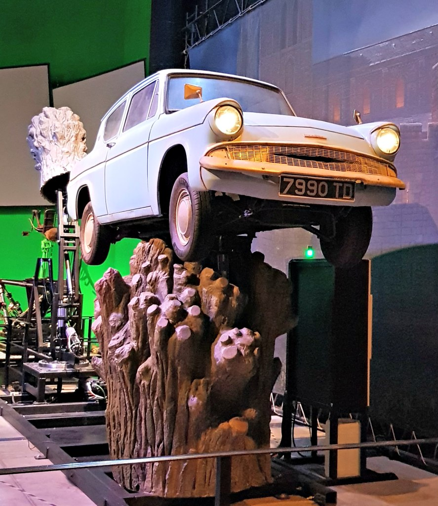 Warner Brothers Studio Tour - props - Ford Anglia