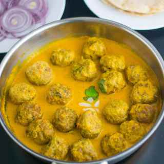 Kofta Curry – Meatballs in an aromatic gravy