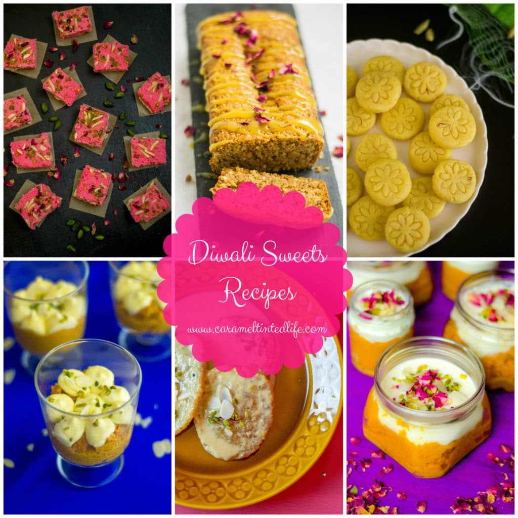 A collection of sweets for Diwali