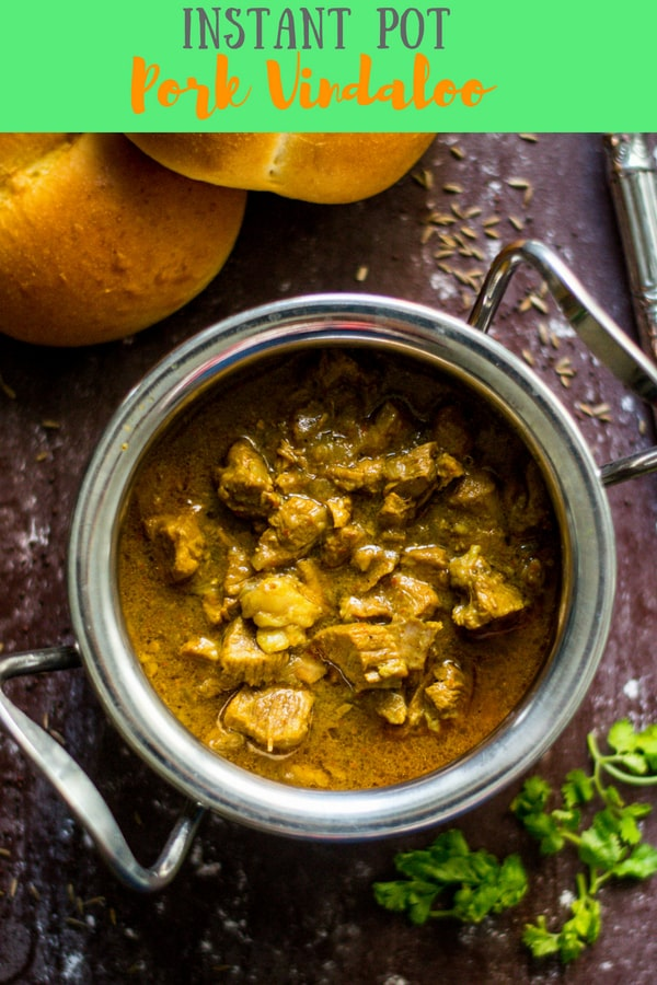 Instant Pot Pork Vindaloo