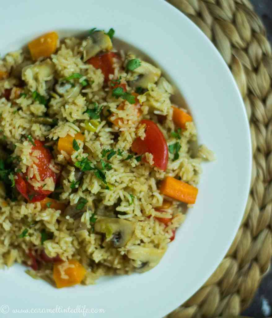 Instant Pot Rice and Veggies