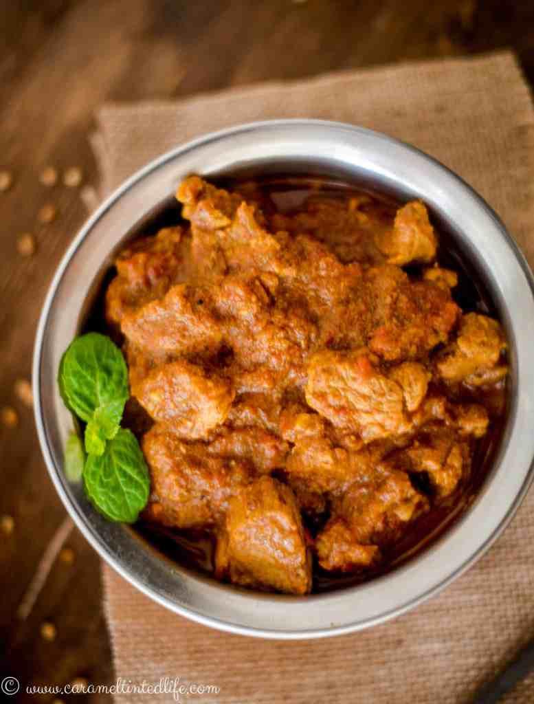 Instant Pot Lamb Bhuna