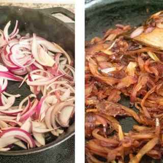 Chicken biryani served in cast iron pot