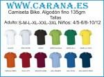Camiseta de algodón fino
