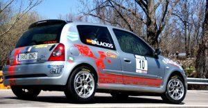 Clio - CARandGAS - RallySprint Canencia 2013