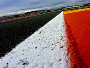 Asfalto Circuito de Valencia.