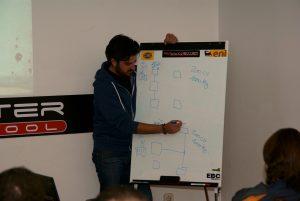 Jorge Tello impartiendo clases - RallyCenter